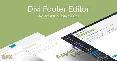 Divi Footer Editor Plugin