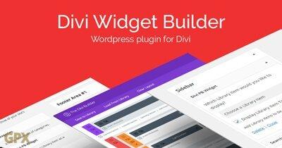 Divi Widget Builder Plugin