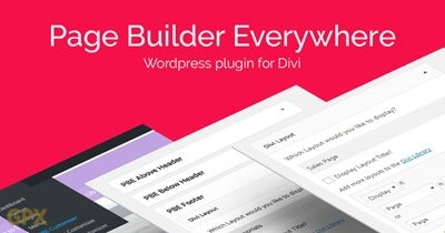 Page Builder Everywhere Plugin