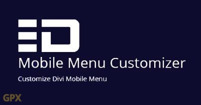 Mobile Menu Customizer Plugin