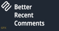 Better Recent Comments Plugin