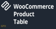 Woocommerce Product Table Plugin