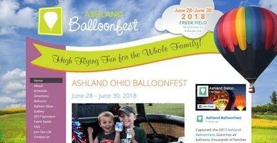 Ashland Ohio Balloonfest