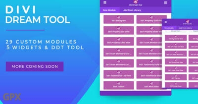 Divi Dream Tool