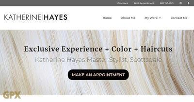 Katherine Hayes Hair